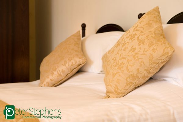 Photos of furniture and rooms in the Hotel Victoria, Newquay.