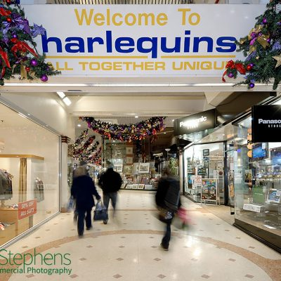 Harlequins Shopping Cnetre in Exeter, Christmas 2010