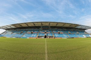 Centre of the Pitch Panorama