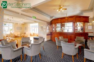 Bar at the Marrine Hotel in Paignton