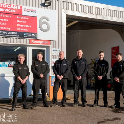 staff at Autocare Services