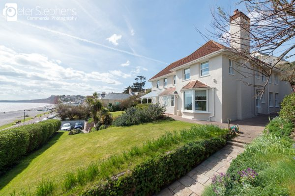 Eastcliff House looking over Budleigh