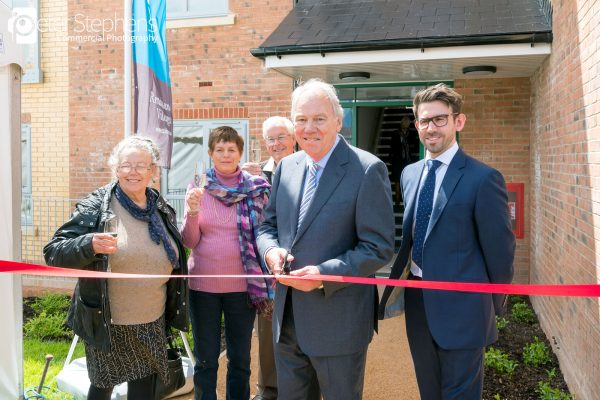 Peter Sissons opening Abercromby House