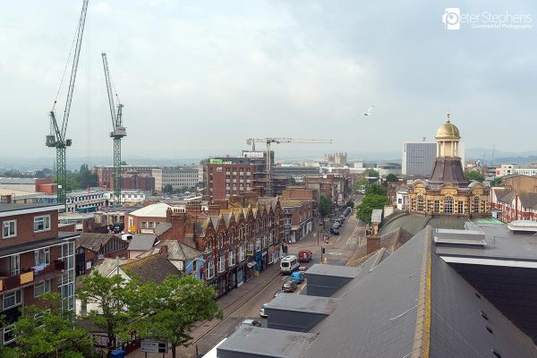 View from the Exeter Odeon Cinema