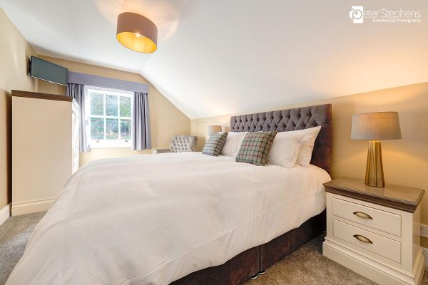 One of the bedrooms in Parklands