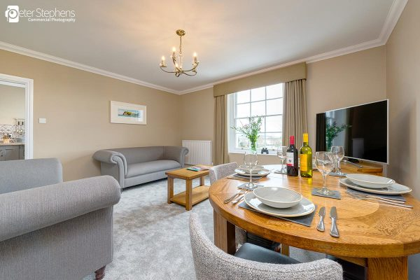 Living and Dining area in Eastdon House